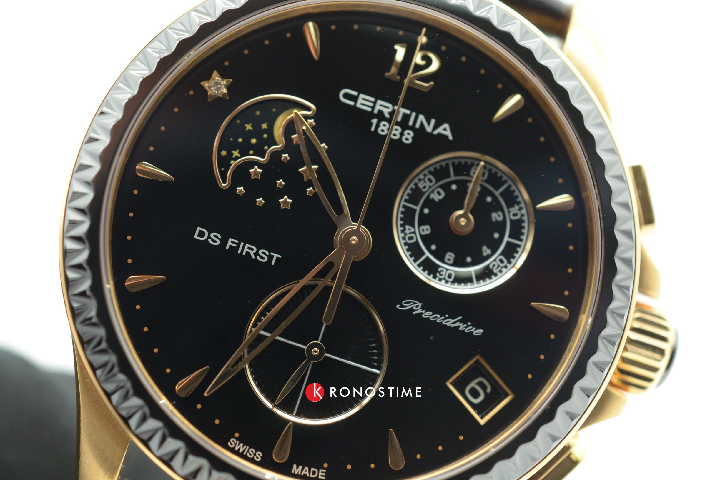 Часы Certina DS First Lady Chronograph Moon Phase C030.250.36.056.00