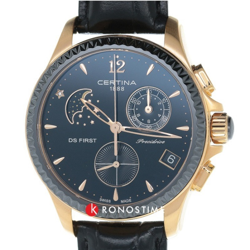Фотография часов Certina DS First Lady Chronograph Moon Phase C030.250.36.056.00_1